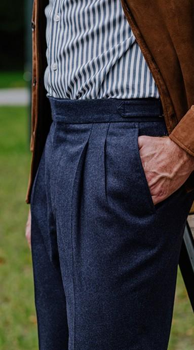 Spodnie sztruksowe King of Cords - CORN