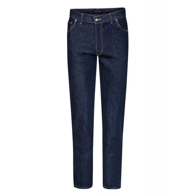 Spodnie flanelowe 100% Wool Navy - 217