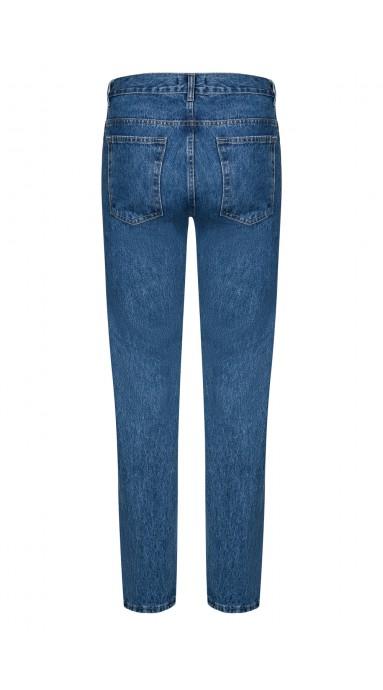 Spodnie flanelowe 100% Wool Navy
