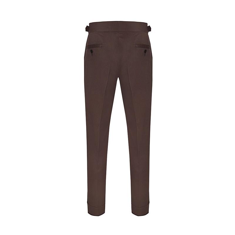 Spodnie Garniturowe 120s VBC Wool Light Beige - 219