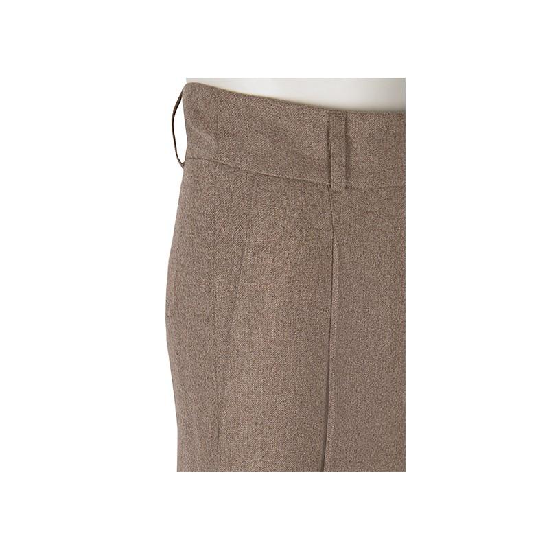 PREORDER Spodnie flanelowe 100% Wool Butelkowa zieleń - 169