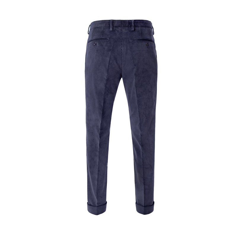 Spodnie męskie Chinosy Slap-Up Premium Dark Brown - 137
