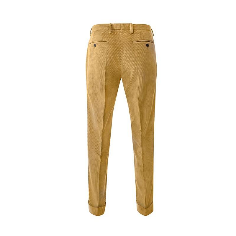 Spodnie męskie Chinosy Slap-Up Dark Brown - 138