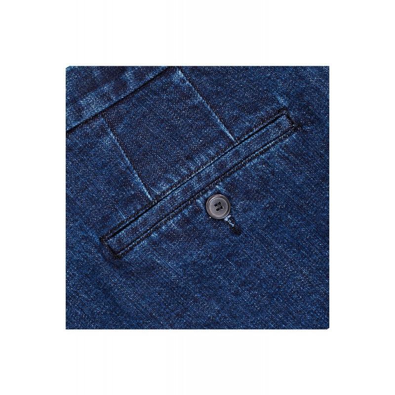 Spodnie męskie Slap-Up Cream Chinosy - 141