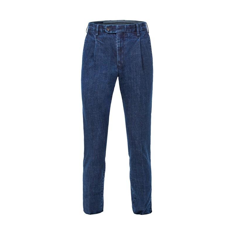 Spodnie męskie Chinosy Slap-Up Premium Silver - 143