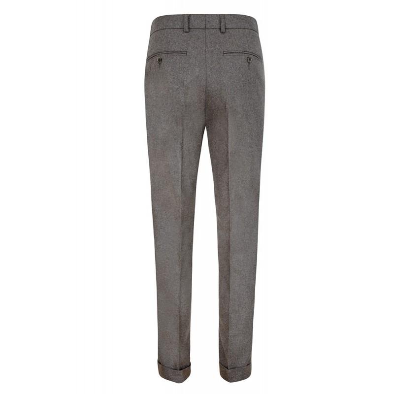 Spodnie męskie Slap-Up Maroon Chinosy - 139