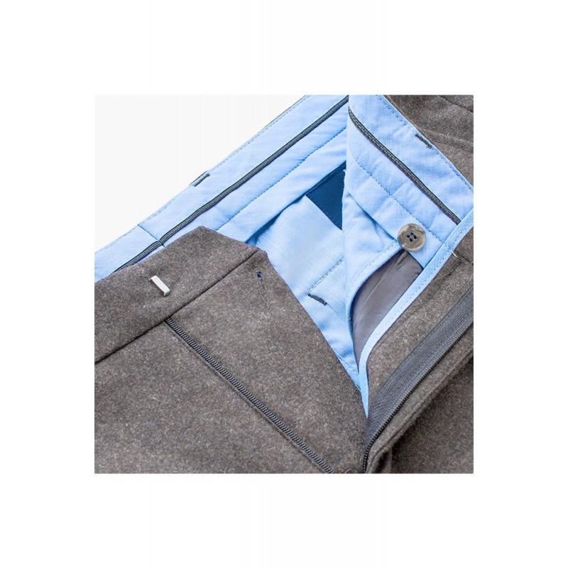 Spodnie męskie Chinosy Slap-Up Maroon - 140