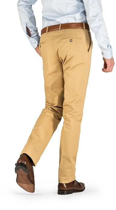Spodnie męskie lniane Light Blue