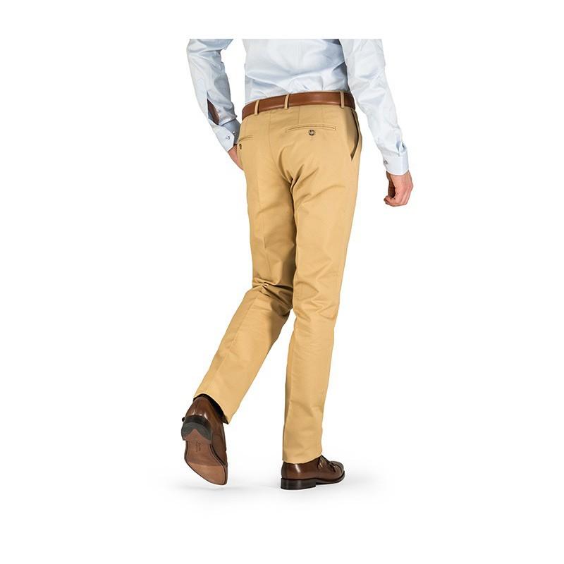 Spodnie męskie lniane Light Blue - 161