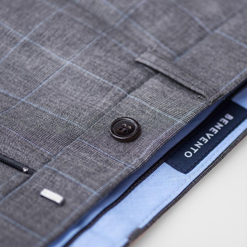 Spodnie męskie lniane Natural - 163
