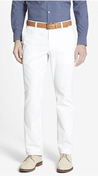 Modne spodnie męskieMoleskin trousers Forest