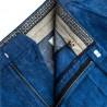 Casualowe modne spodnie chonosy w kolorze granatowym