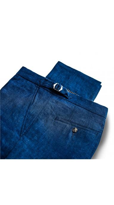 Oliwkowe spodnie chinosy męskie