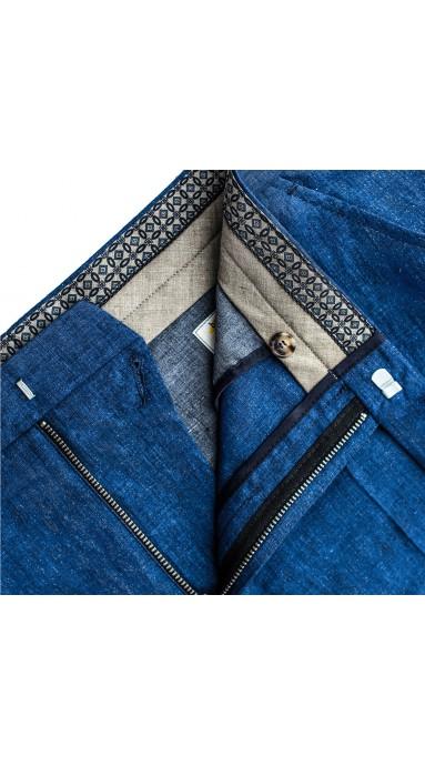 Rude spodnie męskie X-Press Chinosy  Rusty