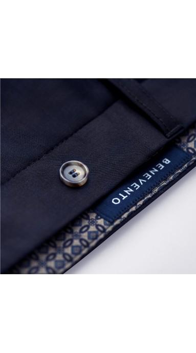 Benevento X-Press Chinosy Vanilla to chinosy czyli modne spodnie męskie dostępne m.inn w kolorze kremowym