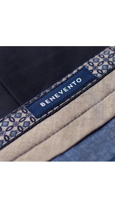 Beżowe spodnie męskie X-Press Chinosy Putty