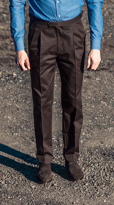 Spodnie Chinos Dark Brown...