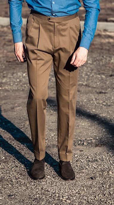 Spodnie Chinos Taupe...