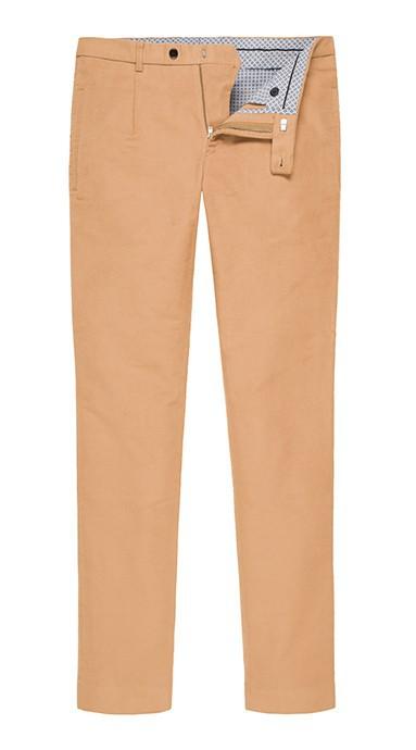 Spodnie męskie Moleskin Camel