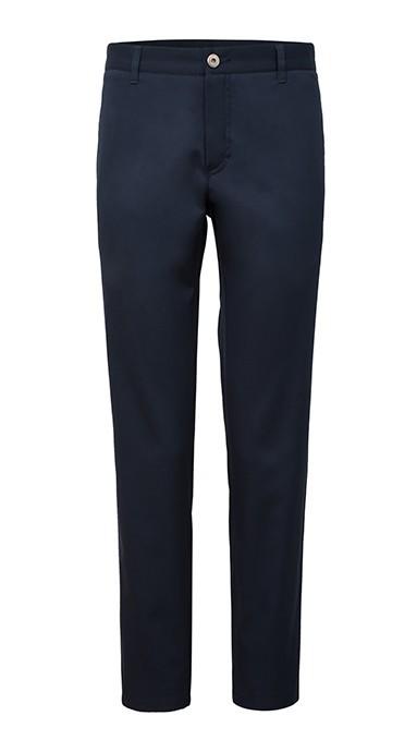 f05ef6221027f Granatowe Spodnie Męskie Chinosy Model X-Press