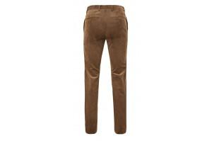 spodnie męskie sztruksowe jasno brązowe