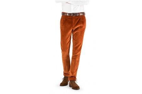 spodnie męskie sztruksowe klasyczne