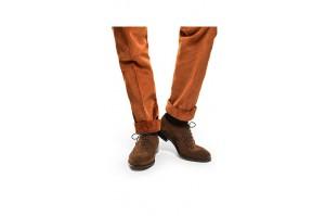 spodnie męskie sztruksowe z mankietem