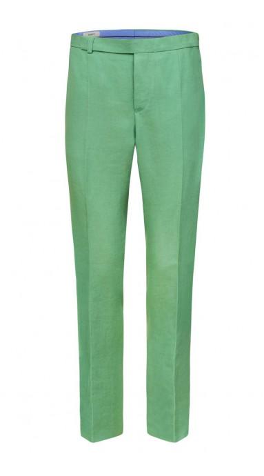 Spodnie Lniane - Mint