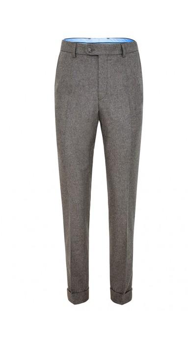 Spodnie flanelowe - Jasno...