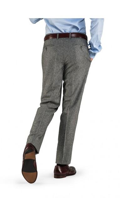 Spodnie flanelowe - Pepitka