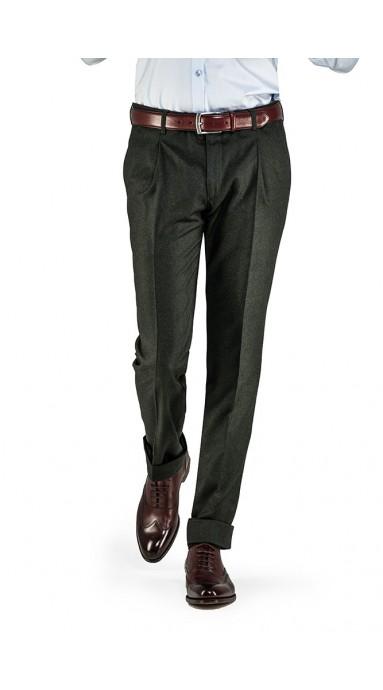 Spodnie flanelowe -...