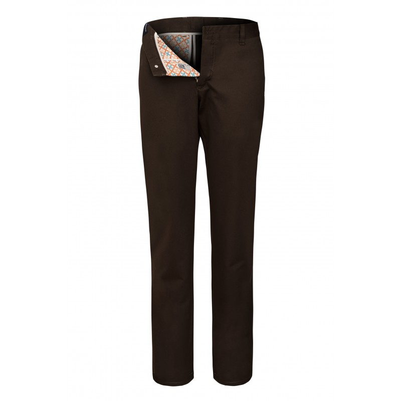 Spodnie męskie X-Press Chinosy Brązowe