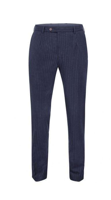 Spodnie flanelowe - Granat...