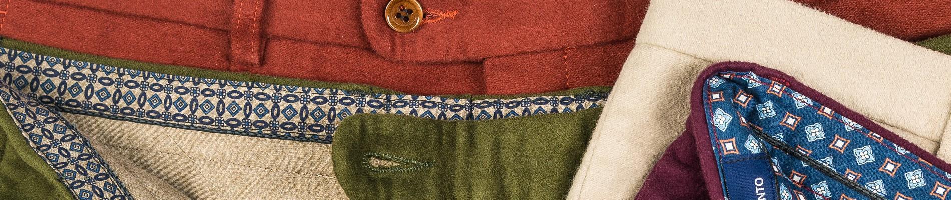 Spodnie moleskin | Benevento.pl