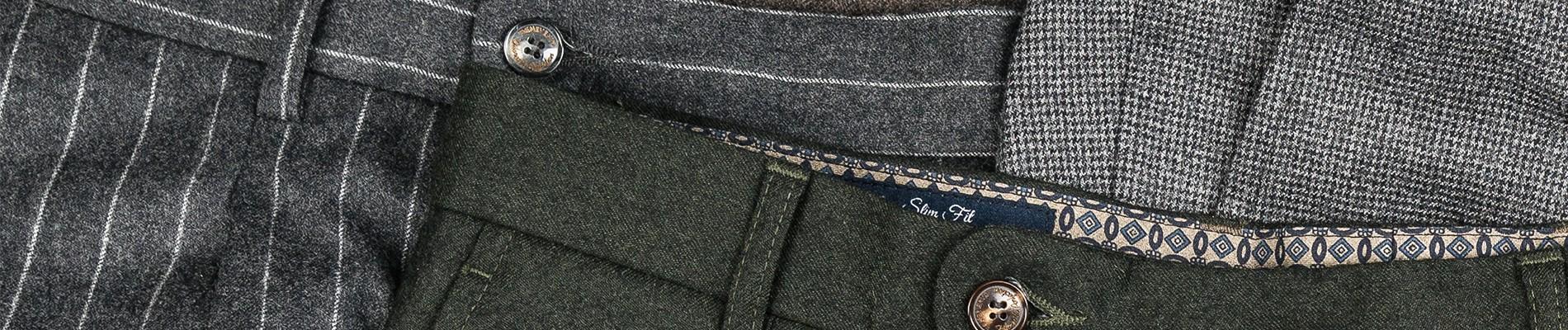 Spodnie flanelowe męskie | Benevento.pl
