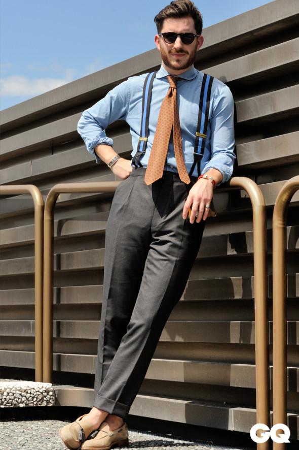 Spodnie na szelki