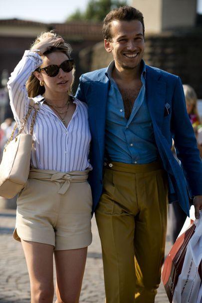 Spodnie męskie bez szlufek