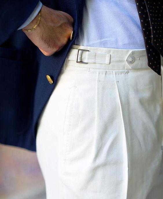 Boczne regulatory do spodni
